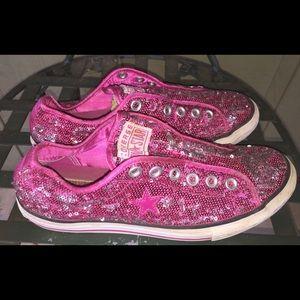 733b728462ba Women s Converse Sequin Sneakers on Poshmark